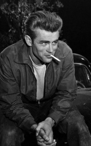 James Dean Smoking